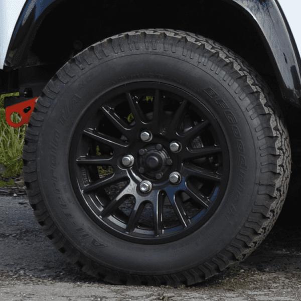 18 black wheel