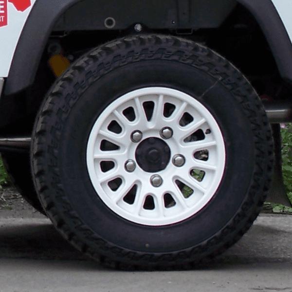 16 white wheel