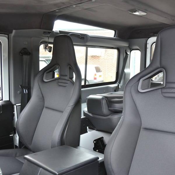 Recaro SVX seats – Front