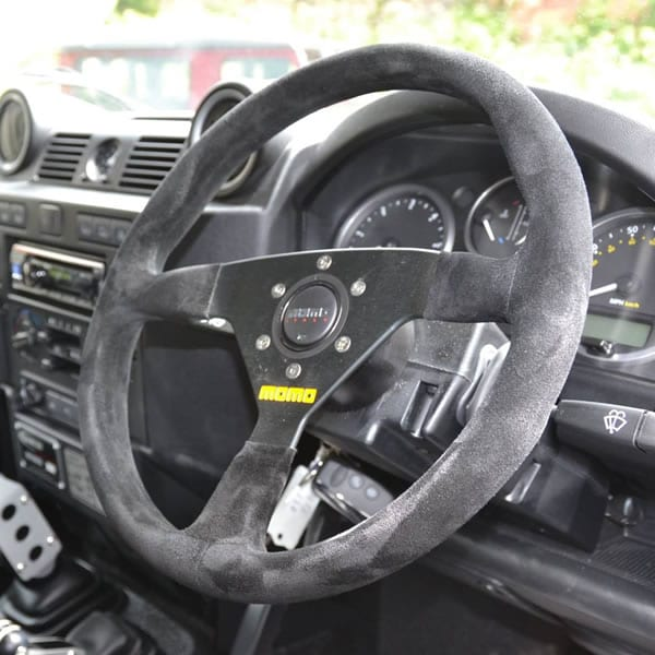 Steering Wheel Alcantara Or Leather Bowler Motorsport
