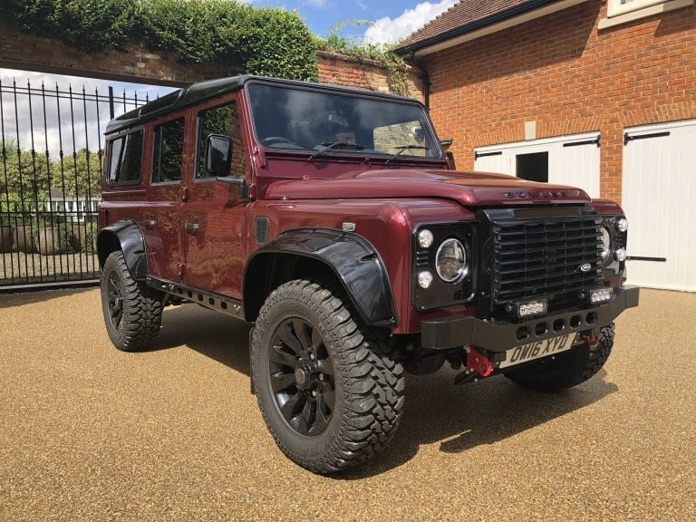 2016(16) Land Rover DEFENDER 110 BOWLER 180bhp 110 Station Wagon 2.2TDCi Landmark