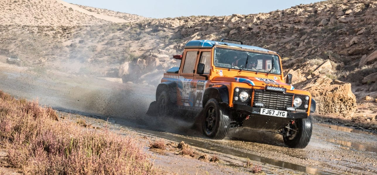 Bowler Returns to the Morocco Desert Challenge