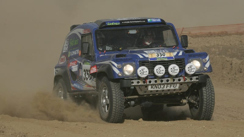 British Hill Rally Champions