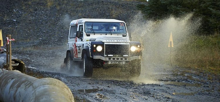 Defender Challenge Scottish Borders Hill Rally Round 6