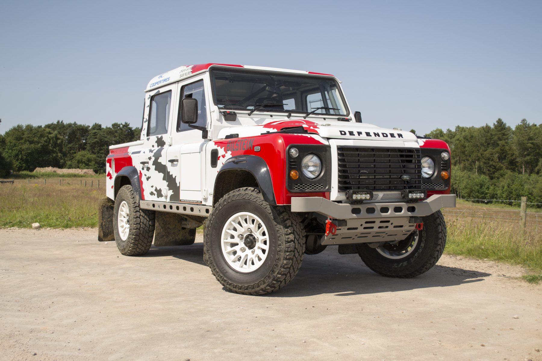 Bowler V6 110 Defender Prototype Race Car