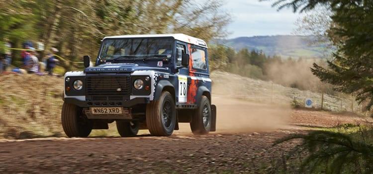 Defender Challenge Round 2 - Rally North Wales