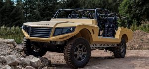 Bowler's CSP Concept Vehicle is being put through its paces