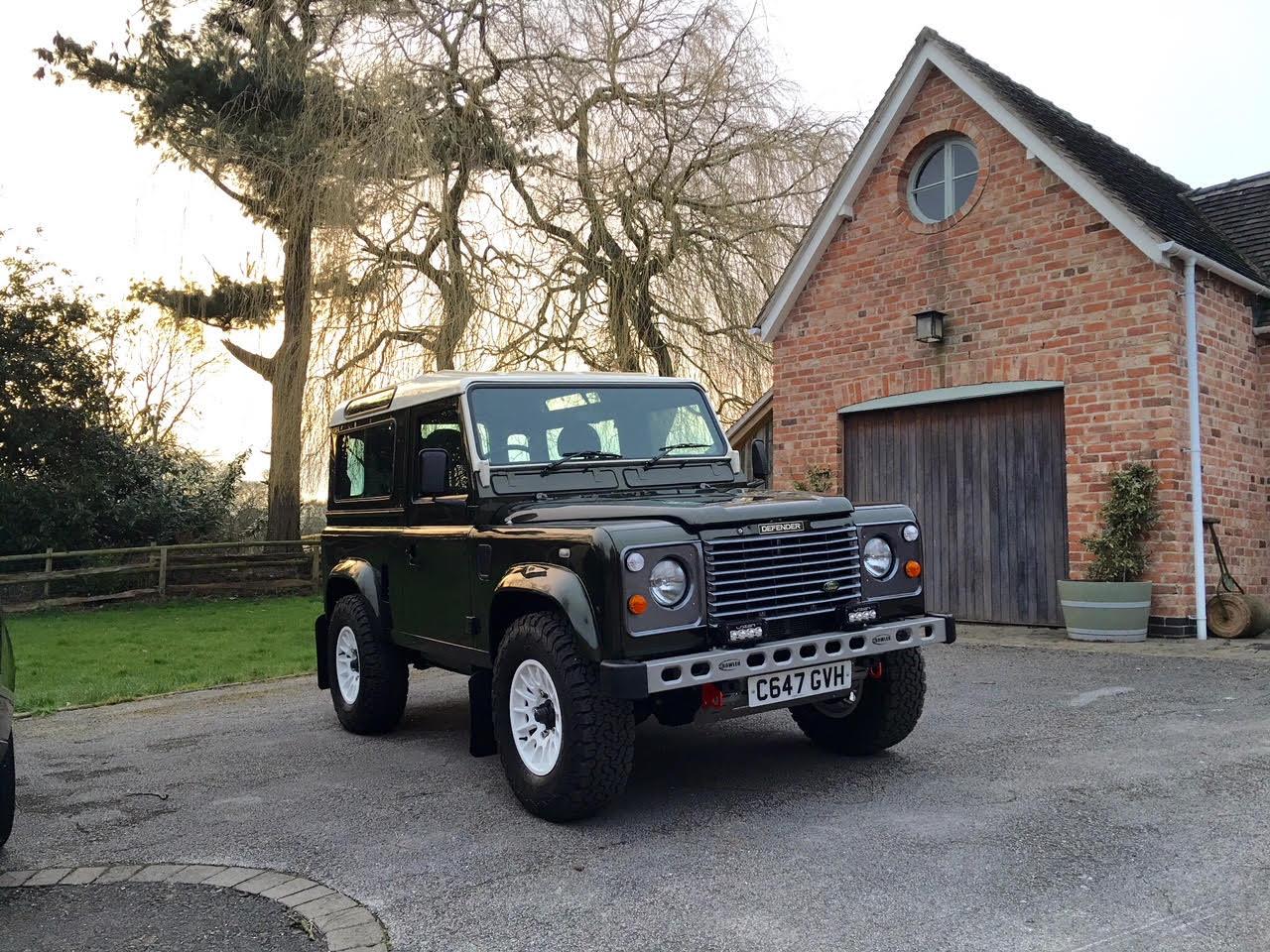 1985 3.5 V8 Defender 90